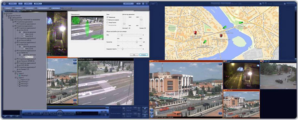 Трансляция видео с ip камер в интернет